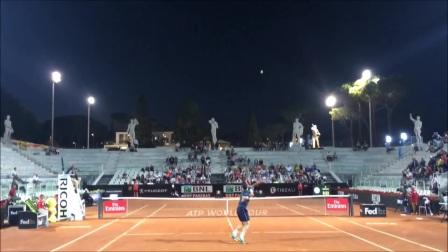 西里奇VS哈里森 低机位 Rome Open 2017 R2 (HD)