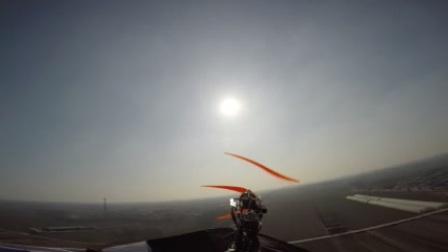 前视角,动力风筝!