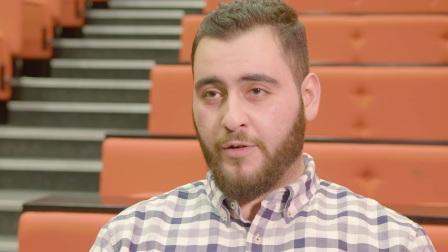 Ali学生访谈| 林肯大学国际学习中心| 计算机工程