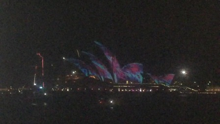 夜遊悉尼港 Records of Vivid Sydney Cruise(20170605)