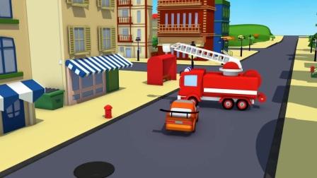 小拖车的汽车维修中心在不断的帮助朋友,助人为乐的小拖车