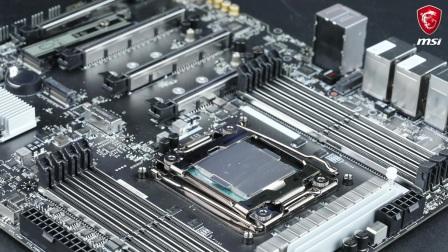 微星 如何安装Intel LGA 2066 CPU(中央处理器)