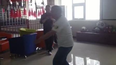 海河老师演示白猿通臂拳之穿掌