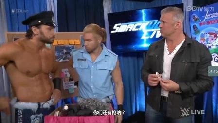 WWE时尚警察的逗比瞬间