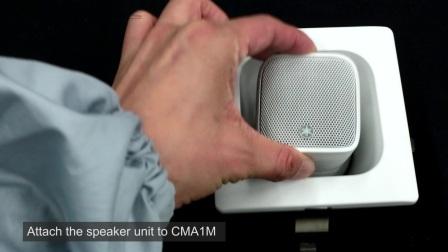 雅马哈商用面装音箱 VXS1ML 快速安装指南