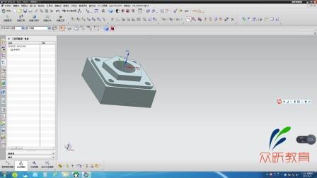 数控编程培训之UG编程-加工环境(一)