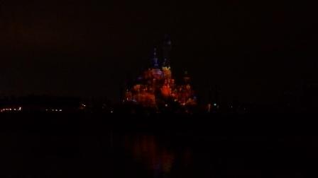 170604上海迪士尼夜光幻影秀 小美人鱼 海底总动员 加勒比海盗