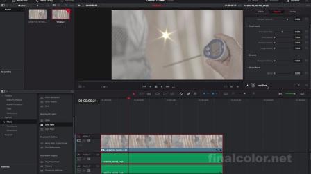 达芬奇14调色教程-特效新功能处理