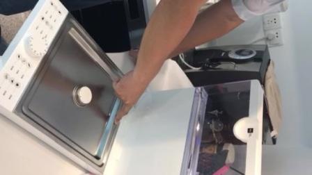Miji德国米技FS-S101A折叠电蒸箱功能测试 蒸汽温度高非专业人士谨防烫伤