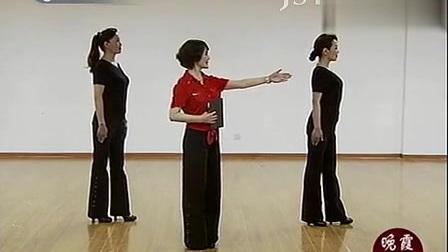 《晚霞公开课》周立贞老师第一讲 中老年模特表演 站姿