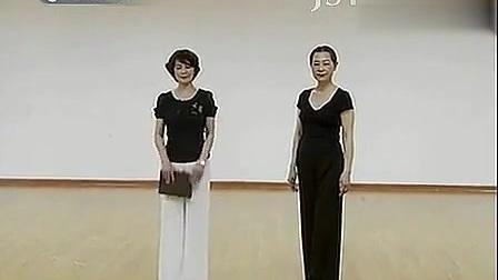 《晚霞公开课》周立贞老师第二讲 中老年模特表演 旗袍步