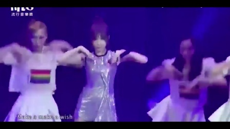 王心凌现场版《少女的祈祷》, 女神火辣热舞