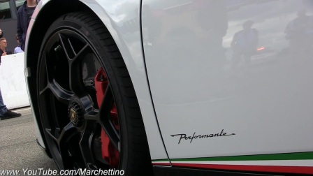 实拍兰博基尼Huracan Performante