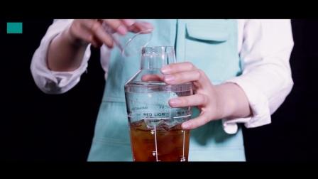 樱桃茶饮《蔓越莓之恋》水果茶制作教程