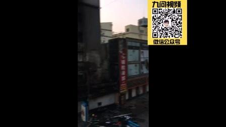 懒虫搜搜:青岛李村步行街发生火灾 五层高楼被烧成空壳3人受伤骨折