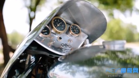 【摩极网】摩托Guzzi涡轮增压摩托