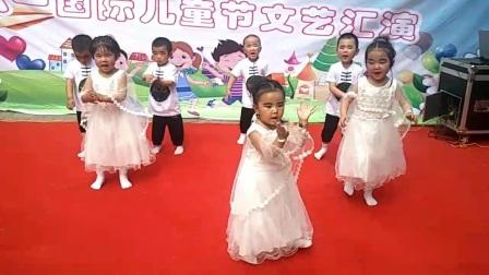 2017年廖赵庄育英才幼儿园'六一'小班舞蹈《饼干歌》