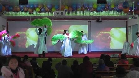 安徽省舒城县石河基督教堂2017新年感恩舞蹈-这一生最美的祝福
