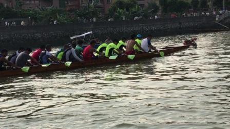 2017年中堂龙舟队40起头桨➕20换气桨训练