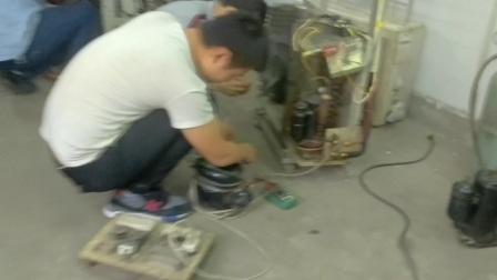 冰箱空调电路板不制冷维修视频讲座 洛阳机电技术学校