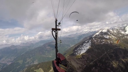 Paragliding World Cup 2017 (France) - Task 3