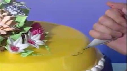 生日蛋糕视频--仿真动物龙的制作