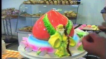 王森蛋糕人物卡通蛋糕制作