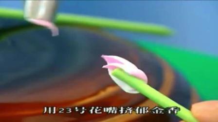 风靡全球的韩式裱花蛋糕视频卡通生日蛋糕