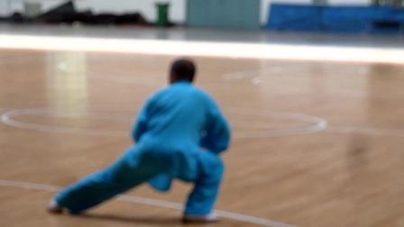 """拜泉太极拳代表队参加齐齐哈尔市""""龙江银行杯""""比赛开幕式表演"""