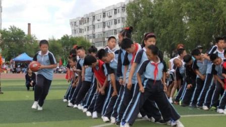 齐齐哈尔市龙沙区青云小学2017国际联谊校园趣味运动会