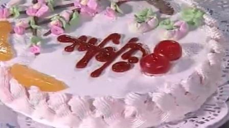 粉色小熊翻糖蛋糕 企鹅翻糖蛋糕