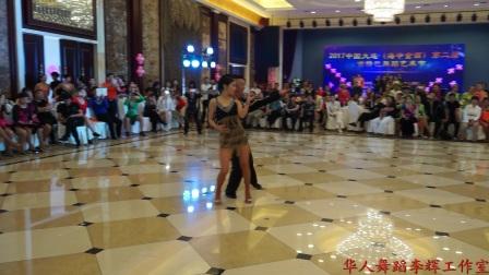 沈阳大海,王娜老师吉舞表演中国大连(海中金酒)2017第二届吉特巴舞蹈艺术节,李辉摄制