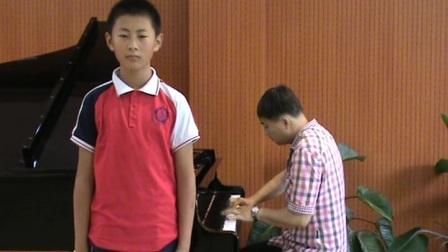 郑州十九中七年级徐岩同学演唱刘杰作曲的原创毕业歌曲《难忘记》