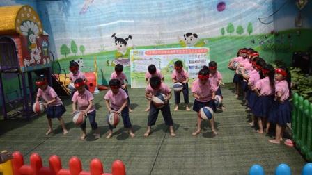 东代村幼儿园篮球操