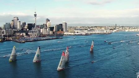 2017-18沃尔沃环球帆船赛最新路线图