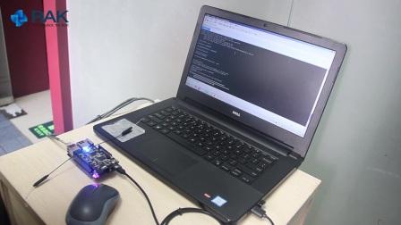 WisCore串口或者网页方式进行固件烧录升级