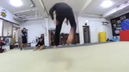 【Tricking Asia Session】跆拳道 特技 空翻 训练 3