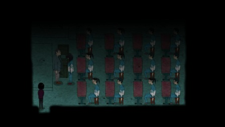 国产恐怖游戏《永乐地》,山寨返校,BUG贼多。