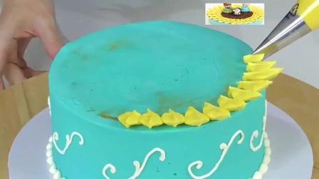 生日蛋糕的做法1创意蛋糕
