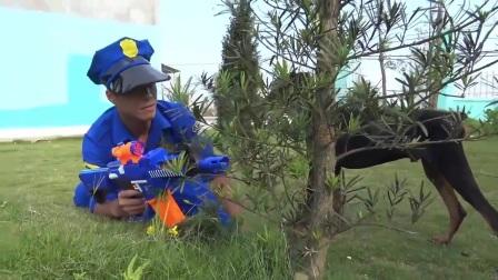 贼车玩具迪斯尼绑架儿童警察追逐!摩托罗拉汽车公司