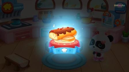 熊猫宝宝的面包店——孩子们学习和玩有趣的烹饪游戏