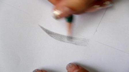 1 纸上铅笔眉形教学