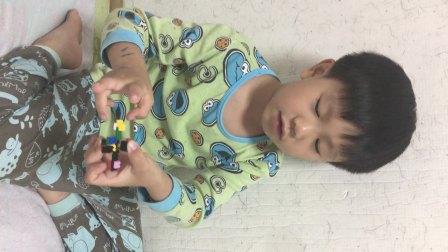 元宝用block自制的小机器人