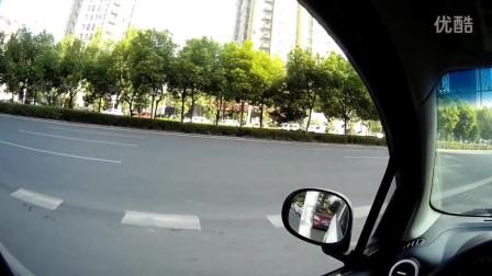 新手上路安全开车教学04:第一人称视角详解侧方停车(二),各种情况演示!(上路实拍学车视频)