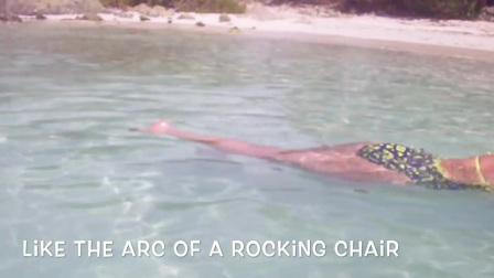 美国TI全浸教练皮埃尔示范二次腿陆地和水里练习(英文字幕)