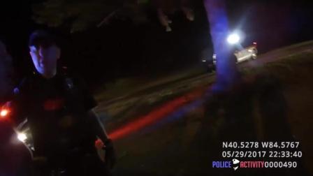 美国警察执法记录4-逮捕逃逸男子