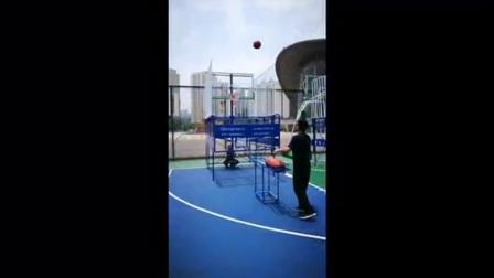 戎通专利移动式一体篮球训练器(带篮板)