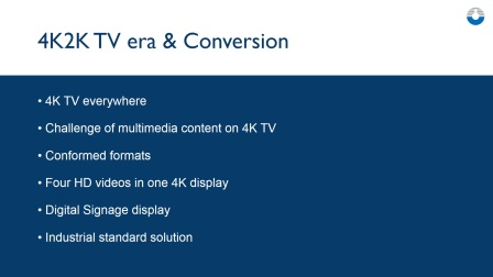 4K2K Video Era and Conversion