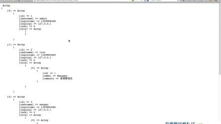 23.后盾PHP视频教程之Thinkphp视频教程--RBAC详解(六)