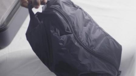 MUJI無印良品: 滑翔伞梭织布折叠式分装盒/ 附把手
